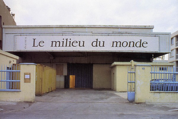 Le Centre d'Art contemporain, un ancien hangar à poissons