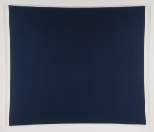 """Dark Blue Panel"", Ellsworth Kelly (photo : doc. photographique du MNAM/RMN)"