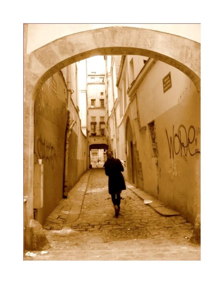 """""""Se hasarder dans les ruelles de Paris"""", photo de Yda.de.Paris"""