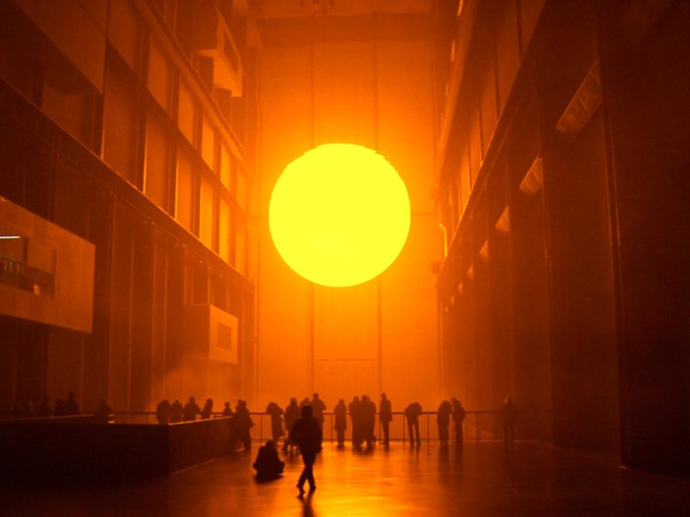 """Olafur Eliasson, """"The Weather Project"""""""