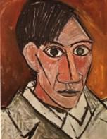 """Picasso, """"Autoportrait"""", 1907"""