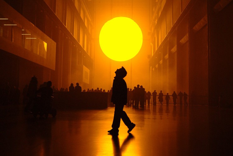"""The Weather Project"", Olafur Eliasson"