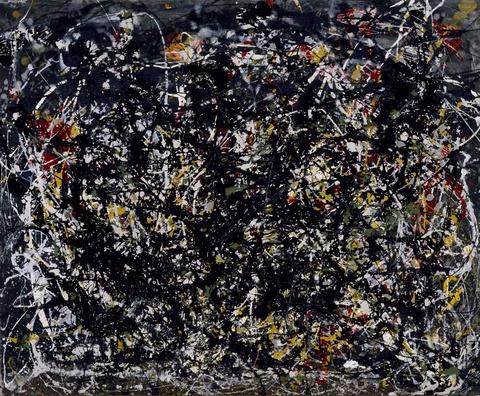 "Jackson Pollock, ""Number 6"""